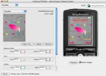 Sony Ericsson ThemesCreator v3.00